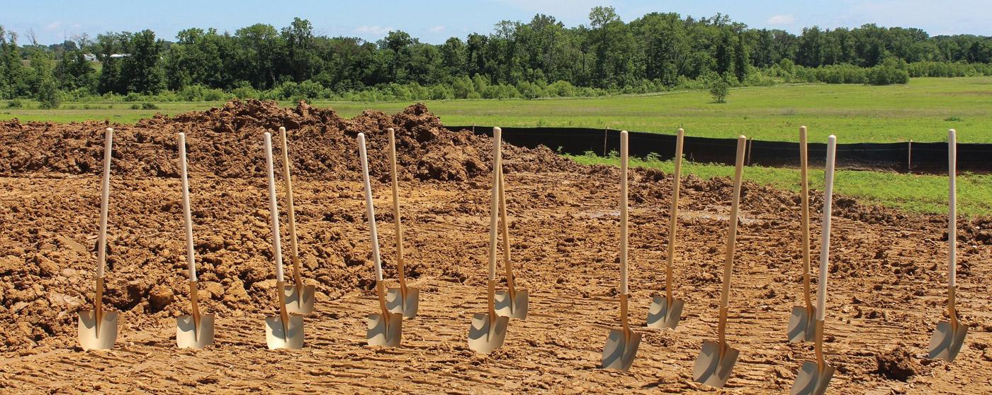 gold shovels