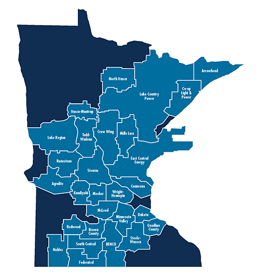 gre service territory map