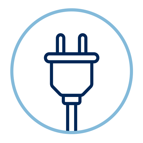 electrical infrastructure icon