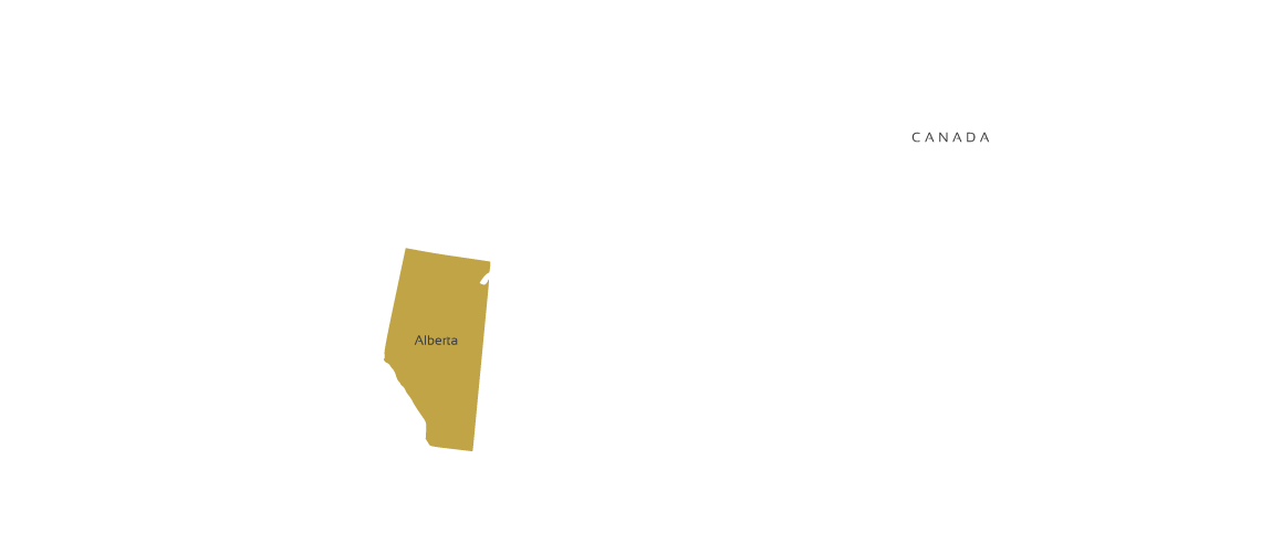 Canada coverage map