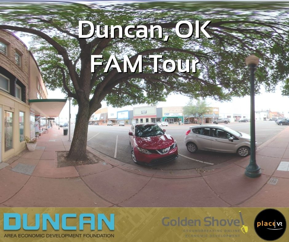360-Degree Video and Virtual Reality to Attract Future Investment in Duncan, Oklahoma Main Photo