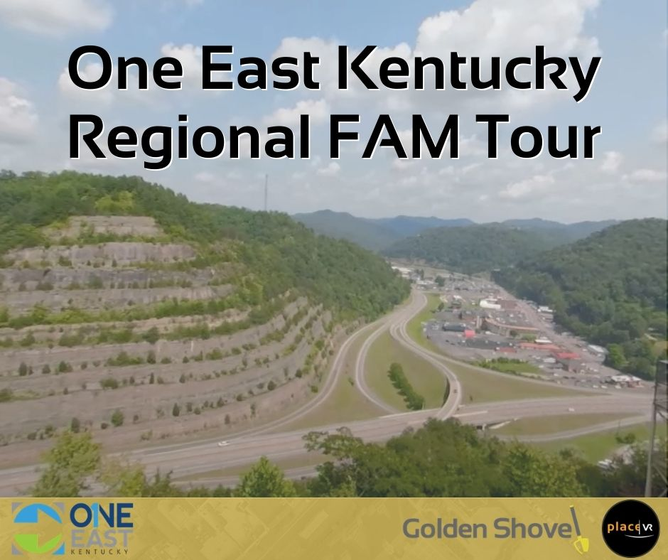 Click the One East Kentucky Reaches Out to the World with PlaceVR Technology Slide Photo to Open