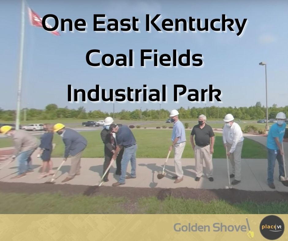 Click the One East Kentucky Targets Site Selector's Short List with 360-Video and Virtual Reality Slide Photo to Open