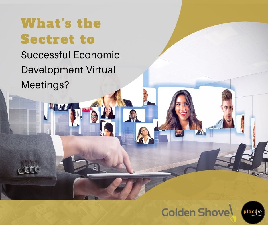 Click the What's the Secret to Successful Economic Development Virtual Meetings? Slide Photo to Open