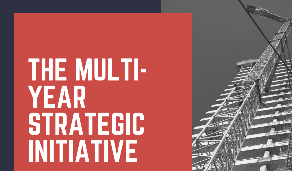 Thumbnail Image For The Multi-Year Strategic Initiative: An effective model for funding and implementing economic development - Because it takes time to build.