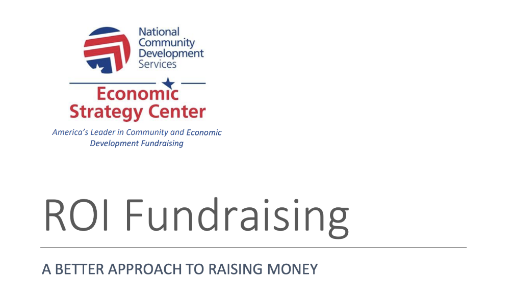 Thumbnail Image For White Paper: ROI Fundraising - Click Here To See