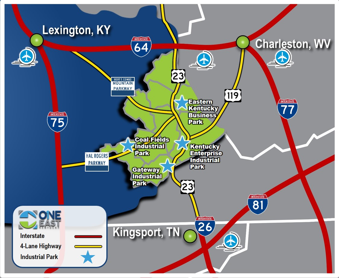 transportation access map