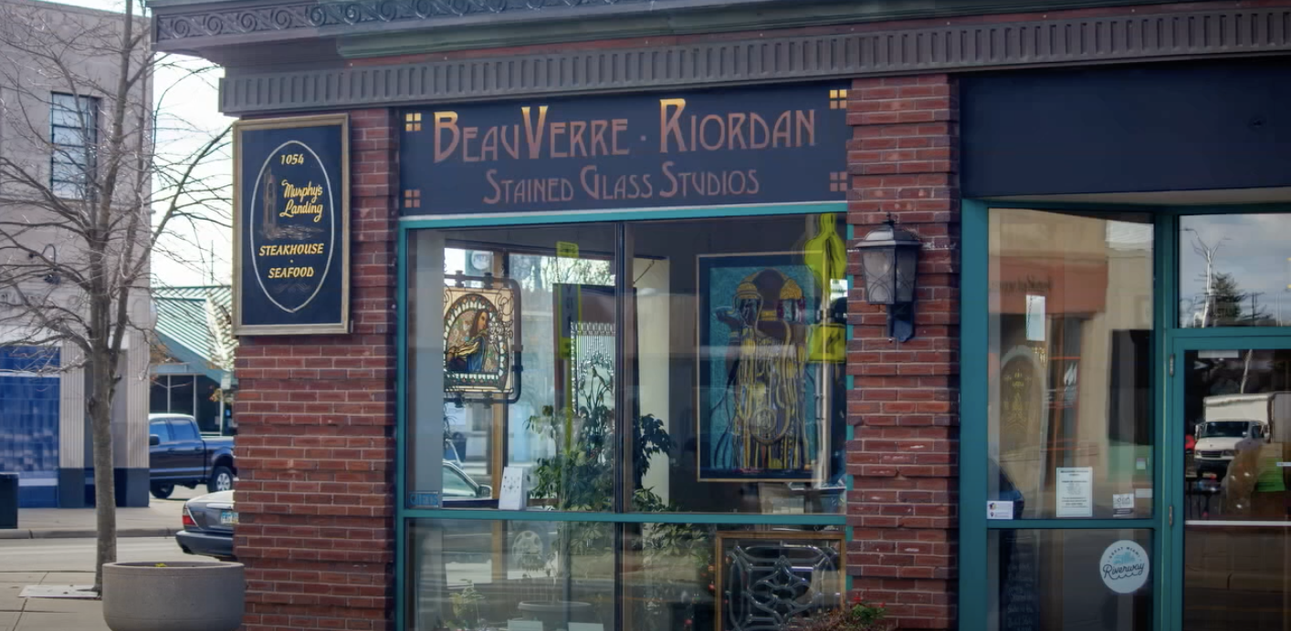 BeauVerre Riordan Stained Glass Studios - Made in Middletown Image