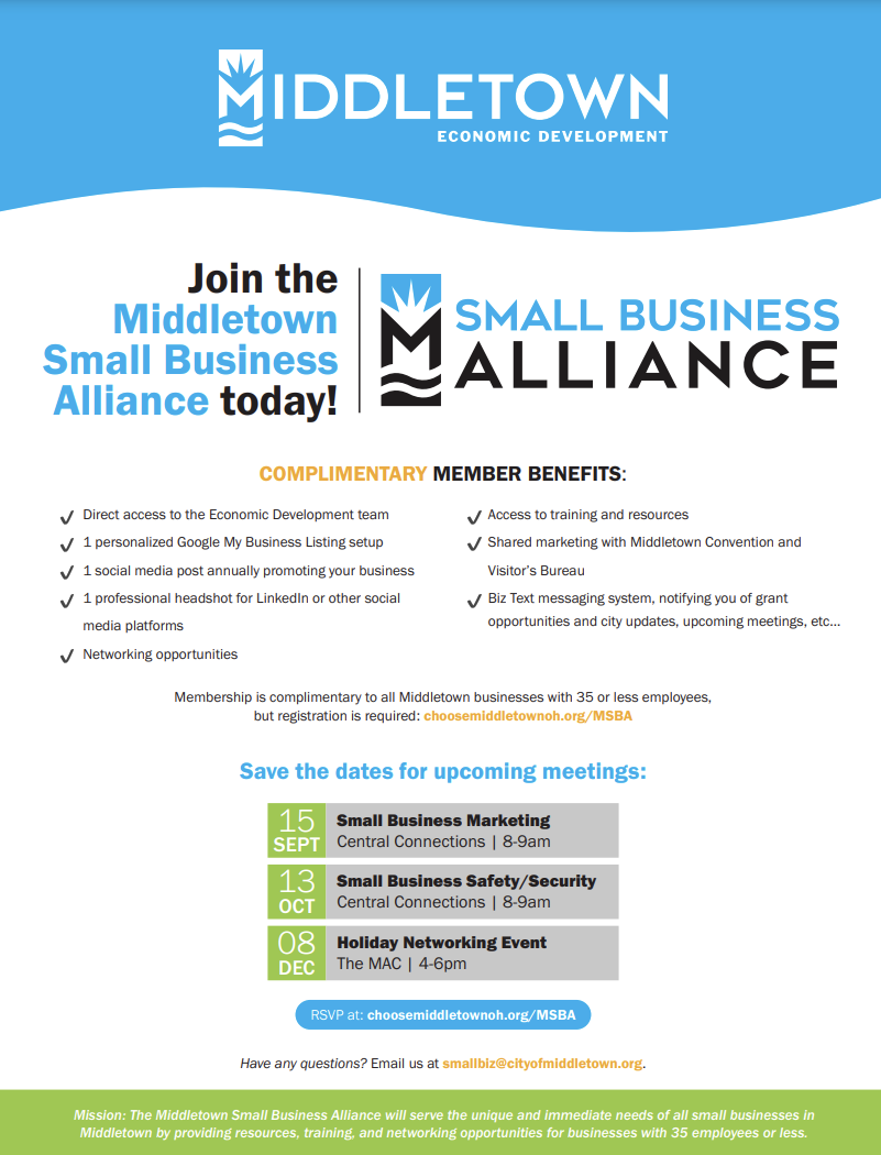middletown small business alliance