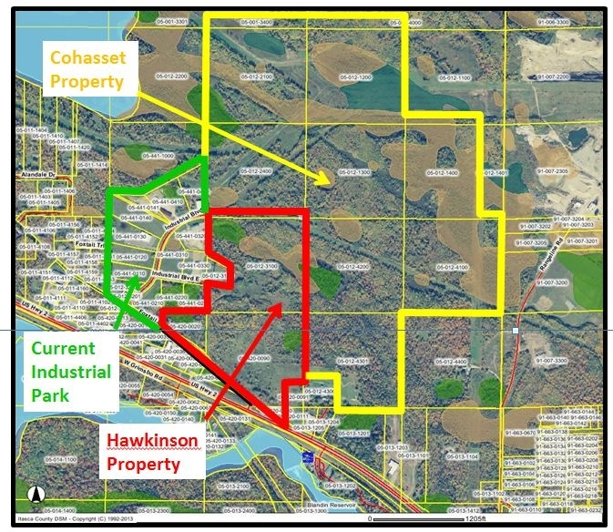 Cohasset Industrial Park Expansion Area Phase II Photo