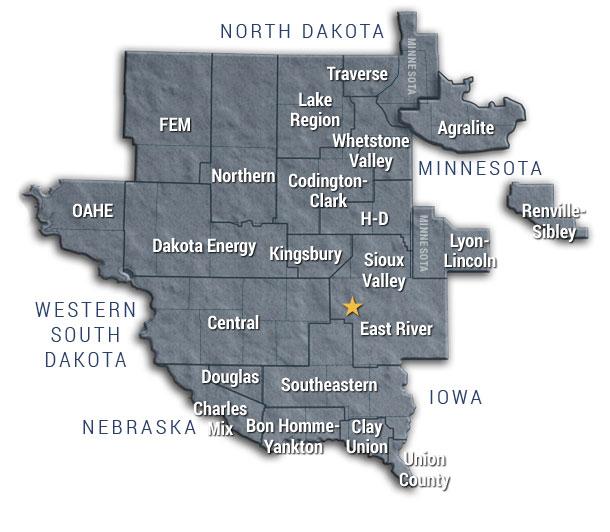 service area map