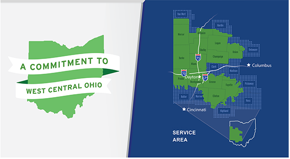 AES Ohio West Central Service Area