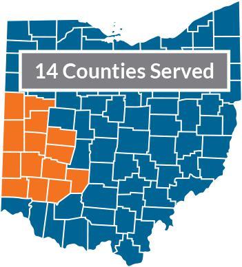 DDC 14 County Region