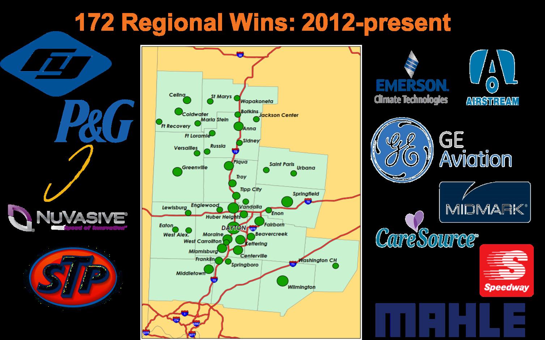 2012 - Present Regional Wins