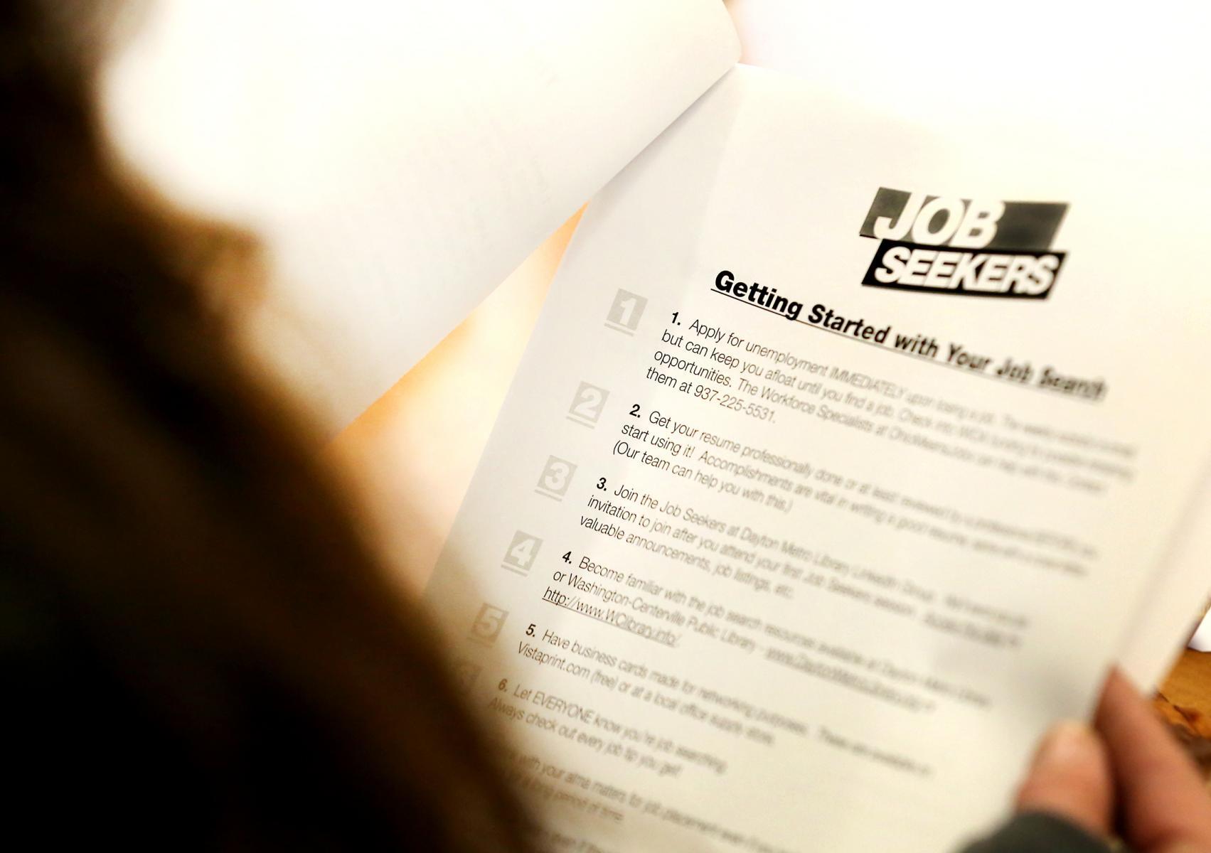 Dayton Public Library Job Seekers Form