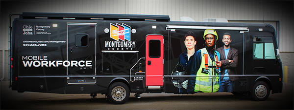 The Workforce Mobile Unit is an Innovative Bridge Between Job Seekers and Employers in Montgomery County, Ohio Photo - Click Here to See