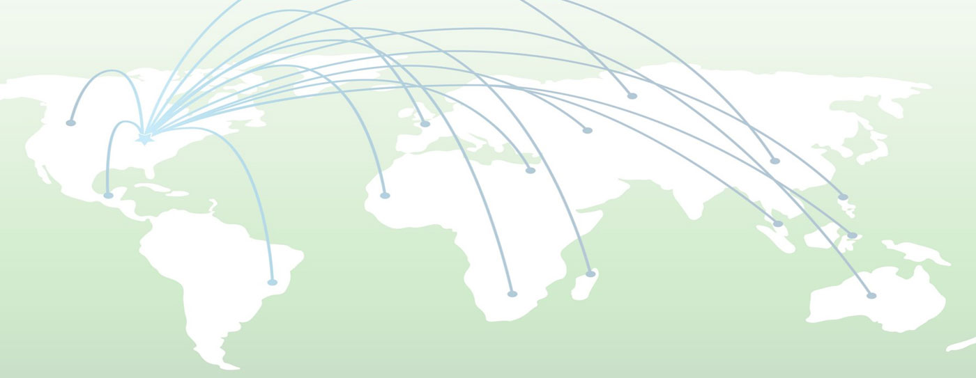 international air routes map