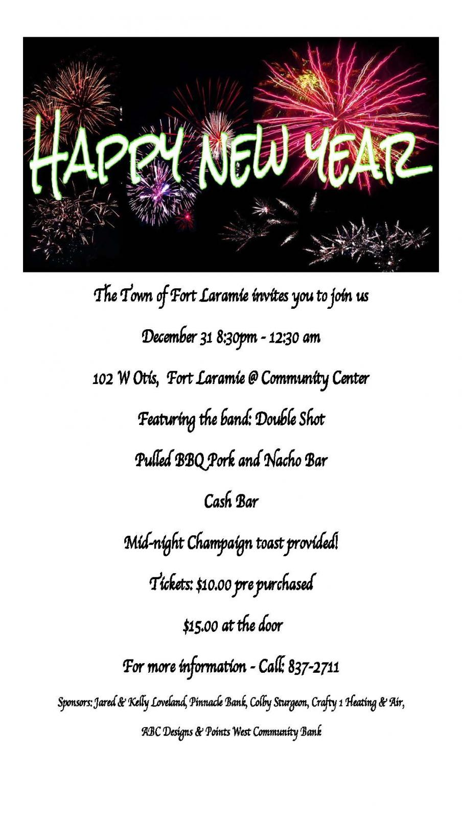 New Year Party in Fort Laramie Photo