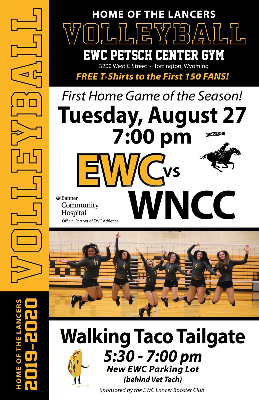 EWC Volleyball vs WNCC Photo