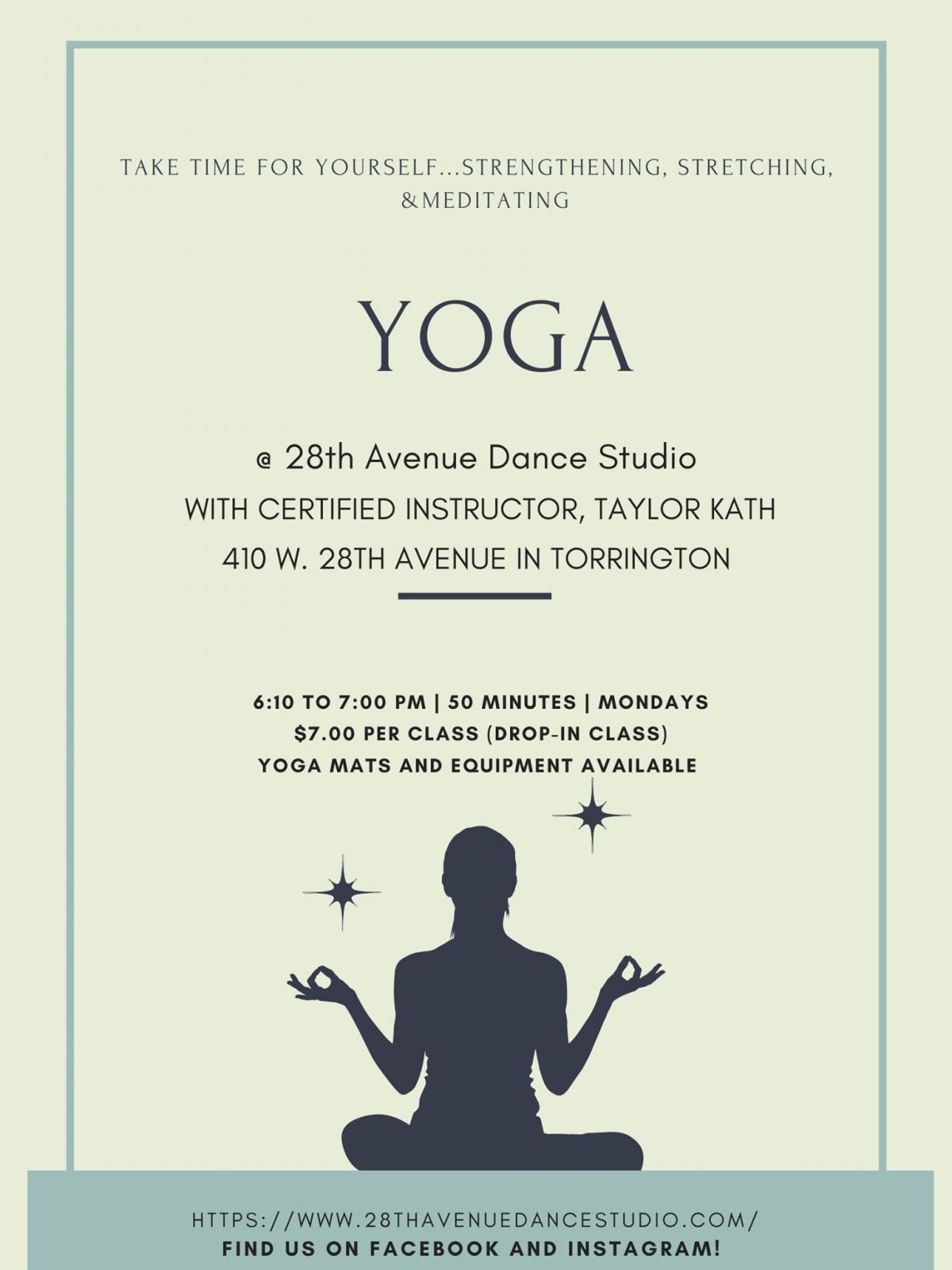 Yoga @ 28th Avenue Dance Studio Photo