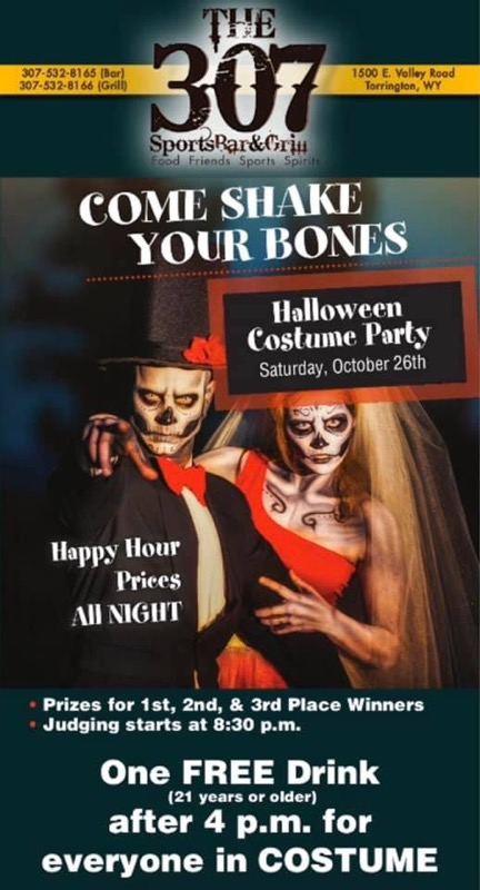 The 307 Sports Bar & Grill Halloween Costume Party Photo