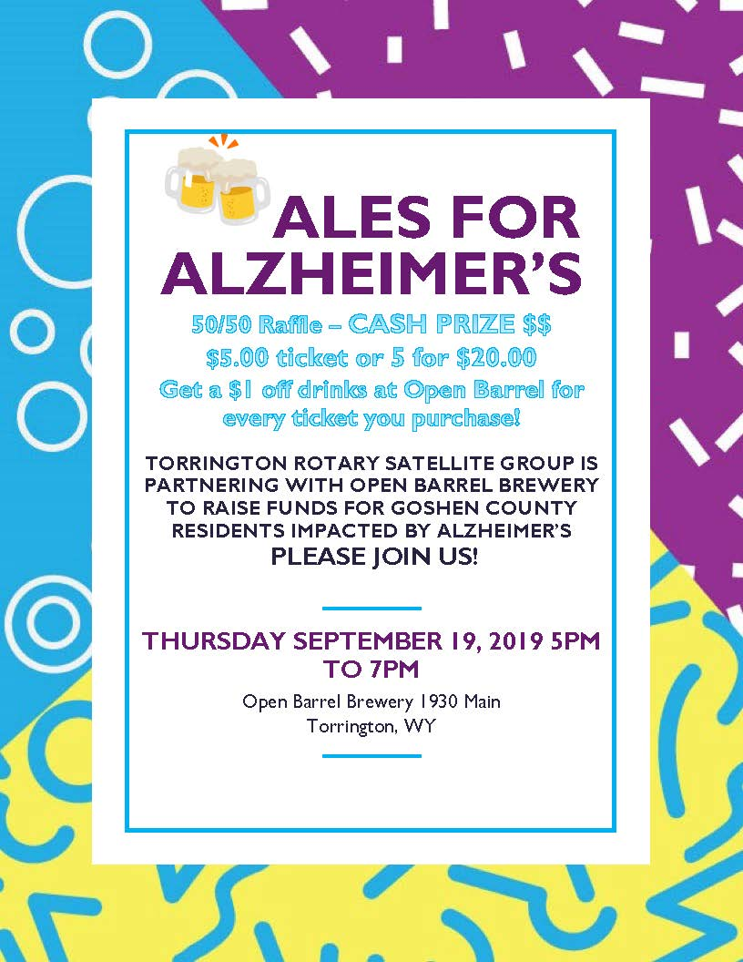 Event Promo Photo For Ales for Alzheimer's