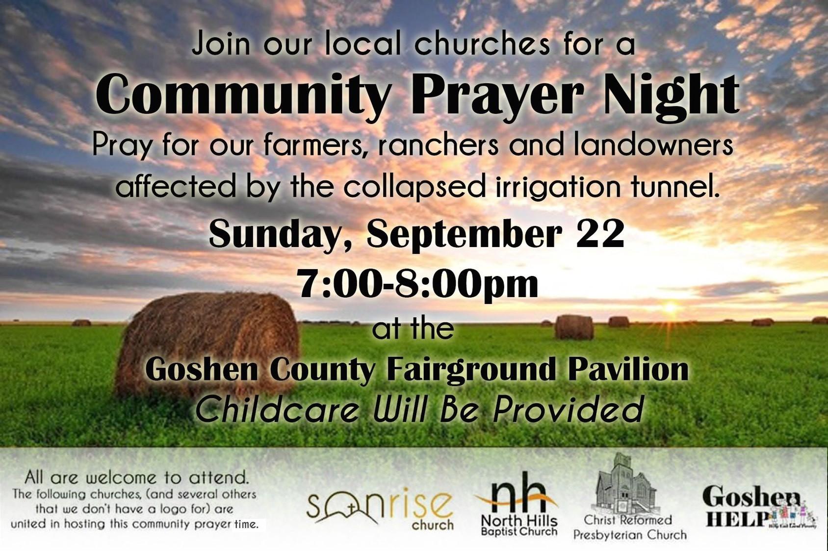 Community Prayer Night Photo