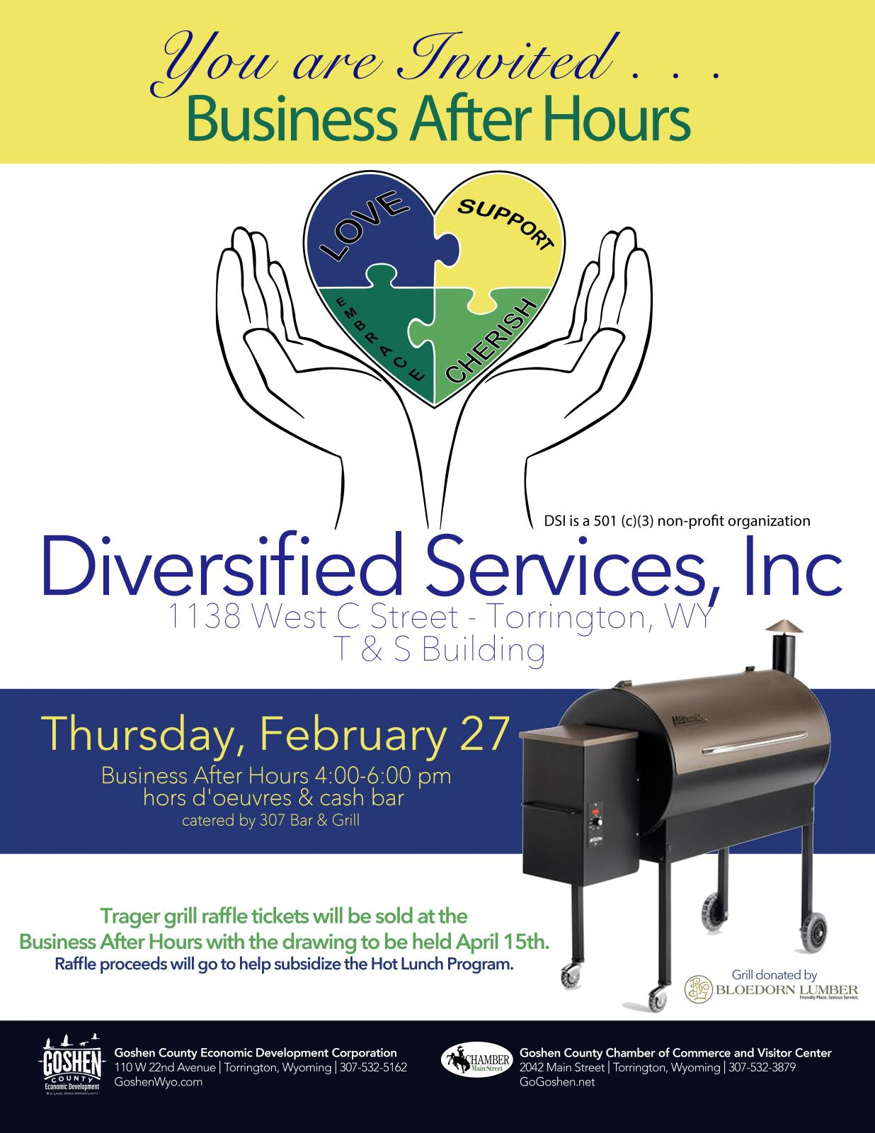 Diversified Services, Inc Business After Hours Photo