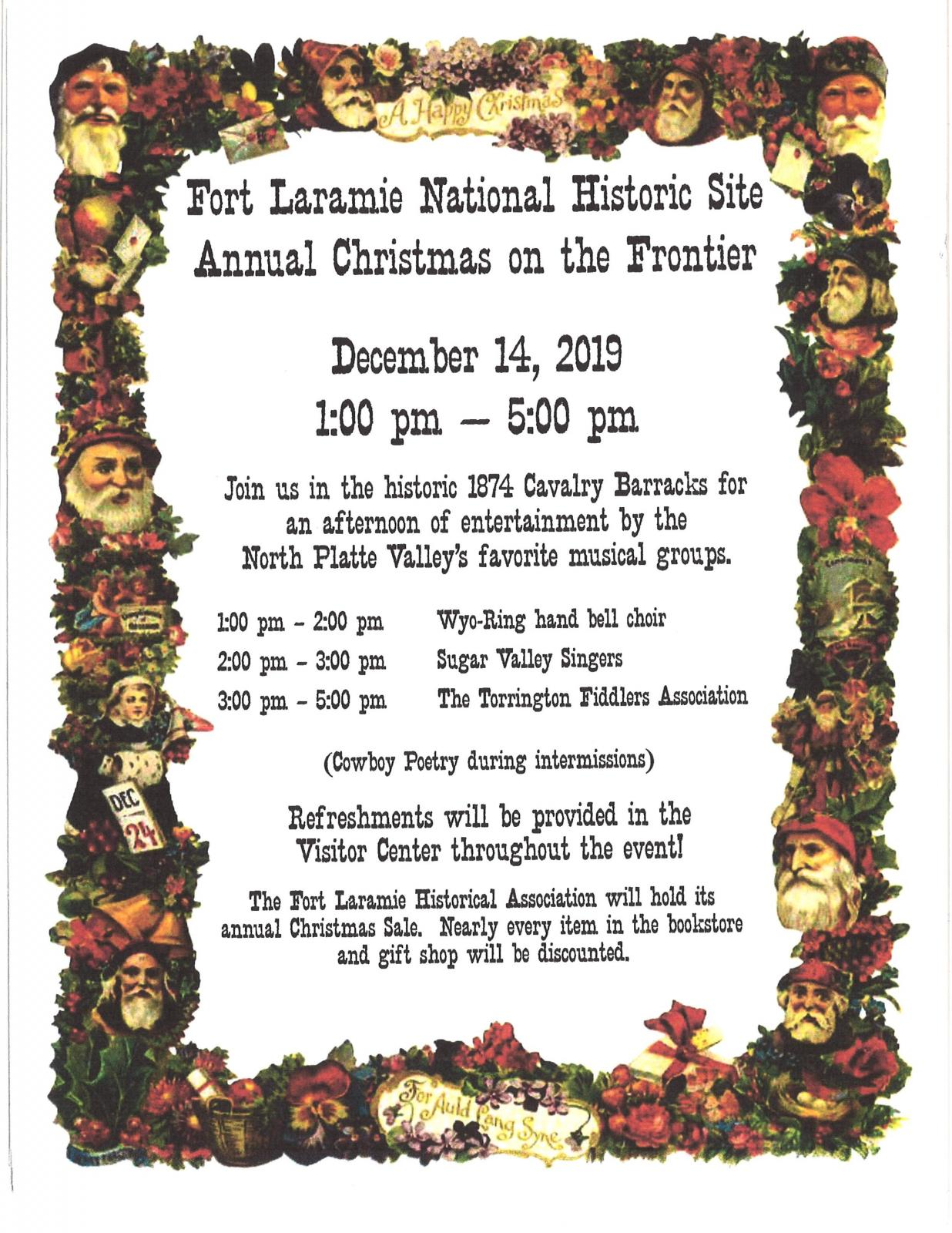 Fort Laramie National Historic Site Annual Christmas on the Frontier Photo