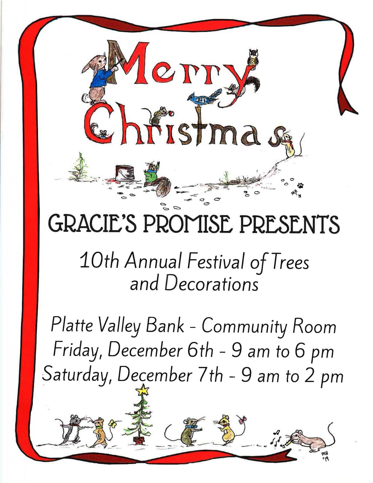 Gracie's Promise Festival of Trees Photo