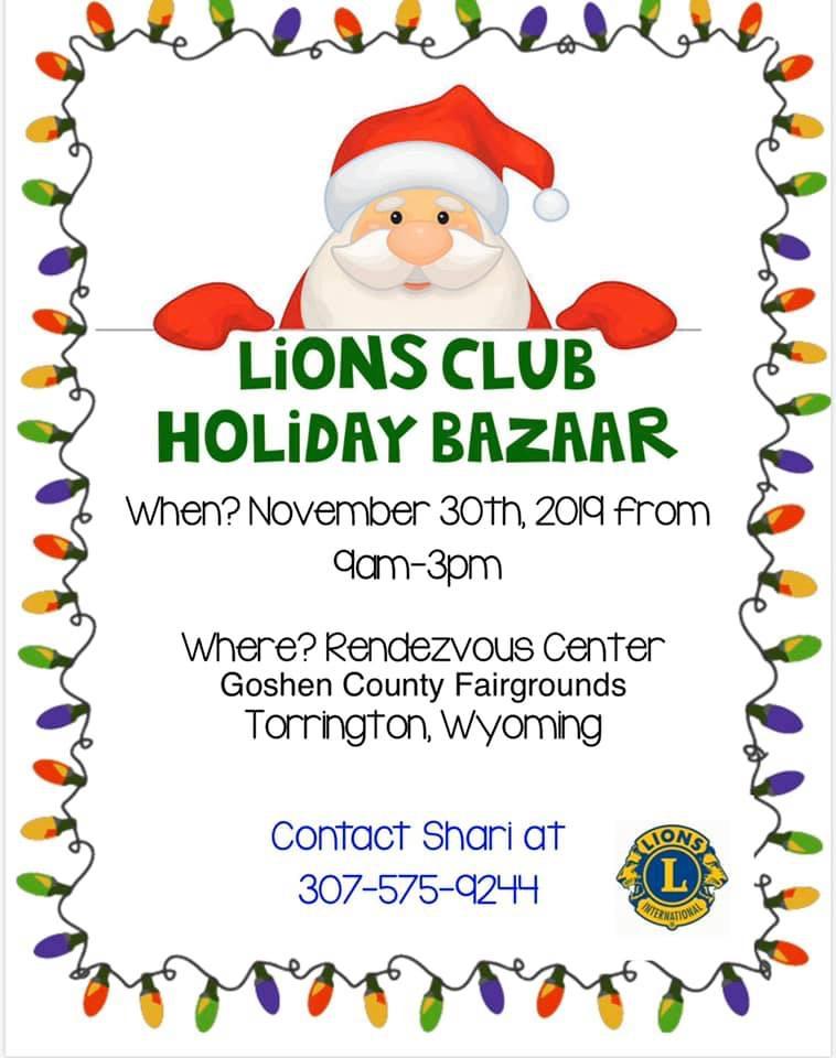 Lion's Club Holiday Bazaar Photo