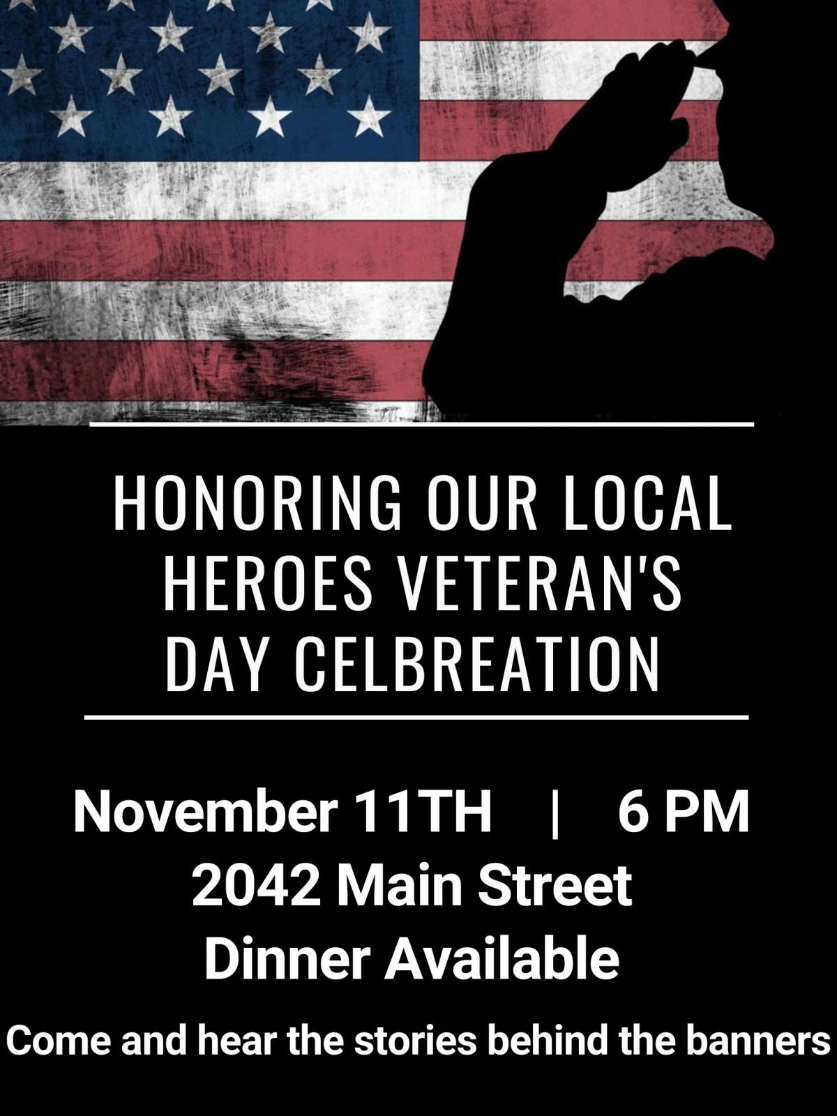 Honoring our Local Heros Veterans Day Celebration Photo