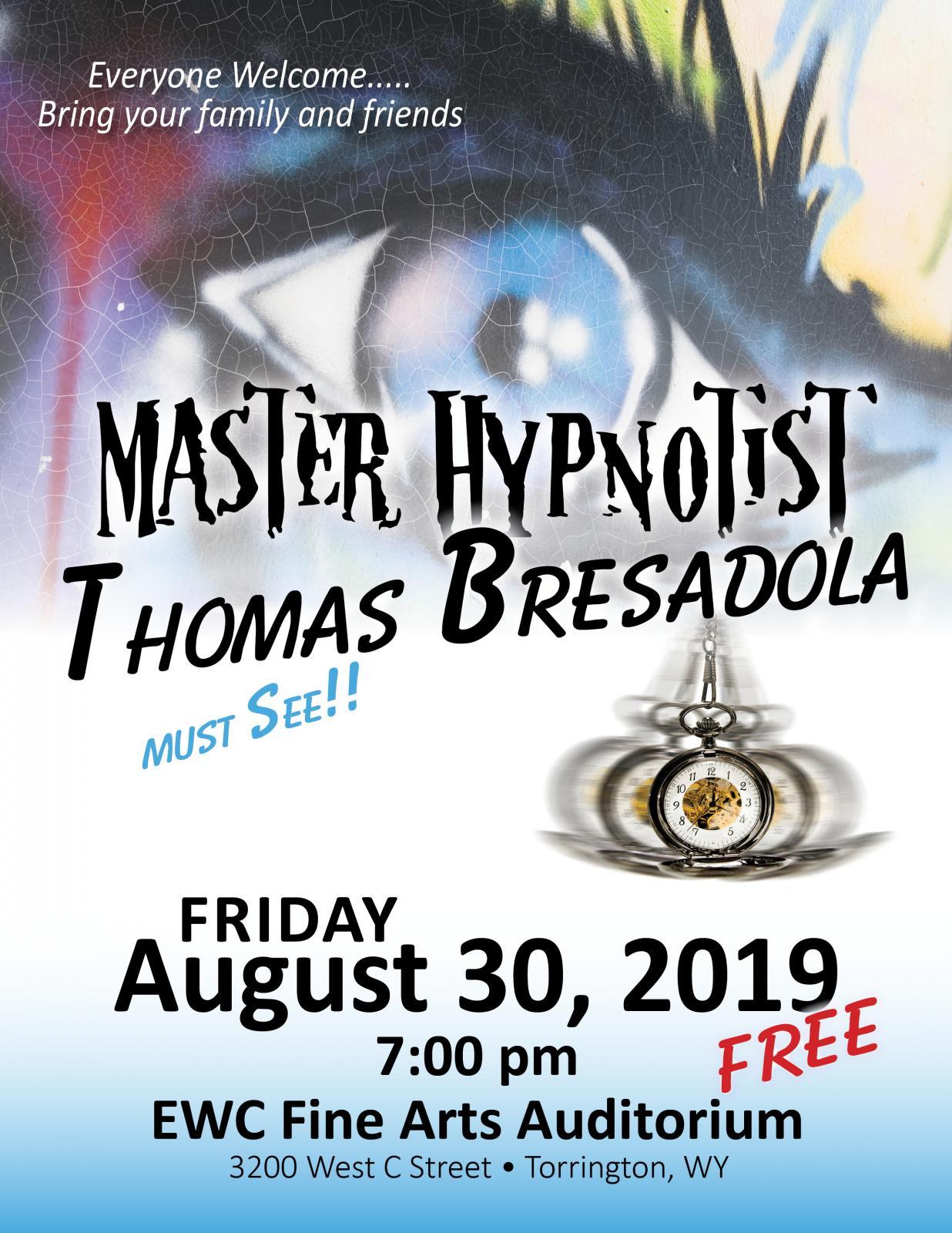Master Hypnotist @ EWC Photo