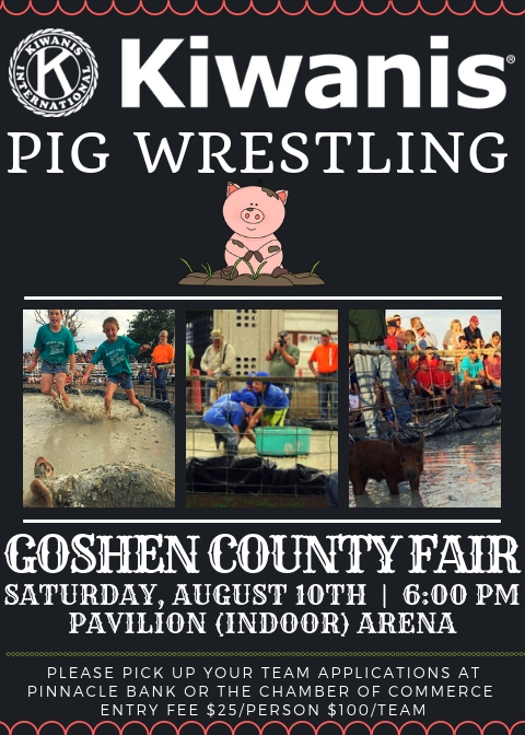 Kiwanis Pig Wrestling Photo