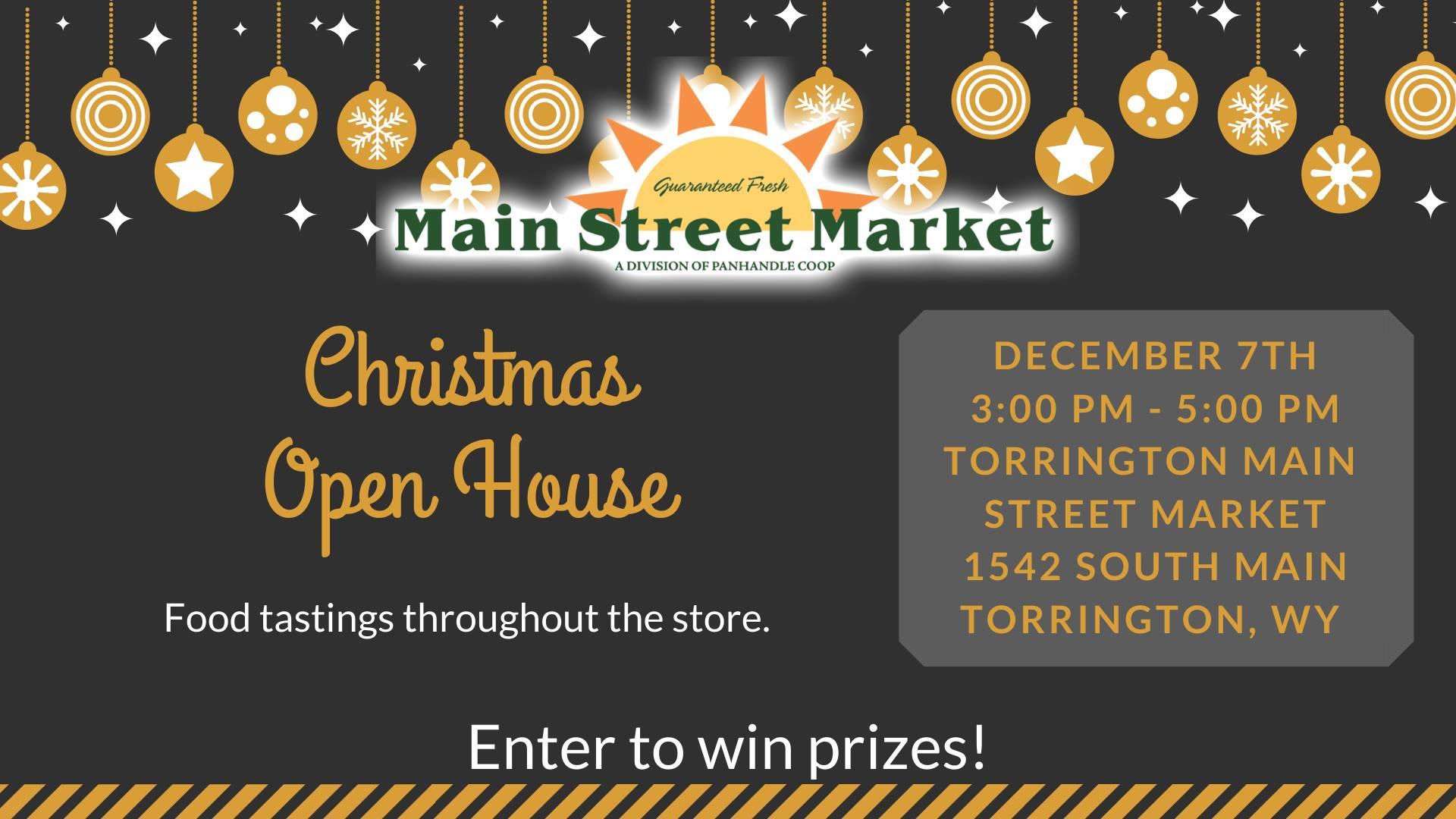 Main Street Market Christmas Open House Photo
