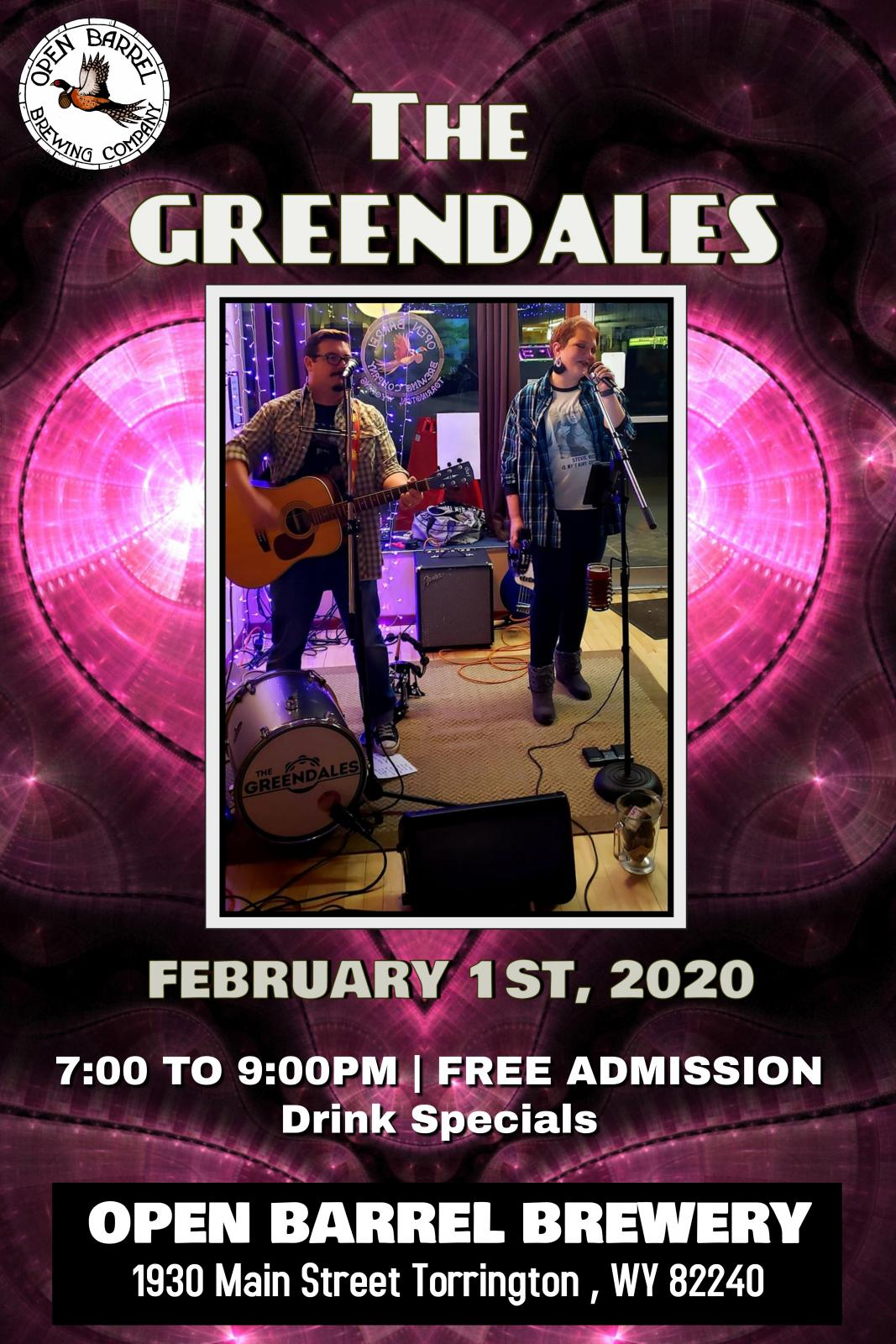 The Greendales Band at Open Barrel Brewery Photo