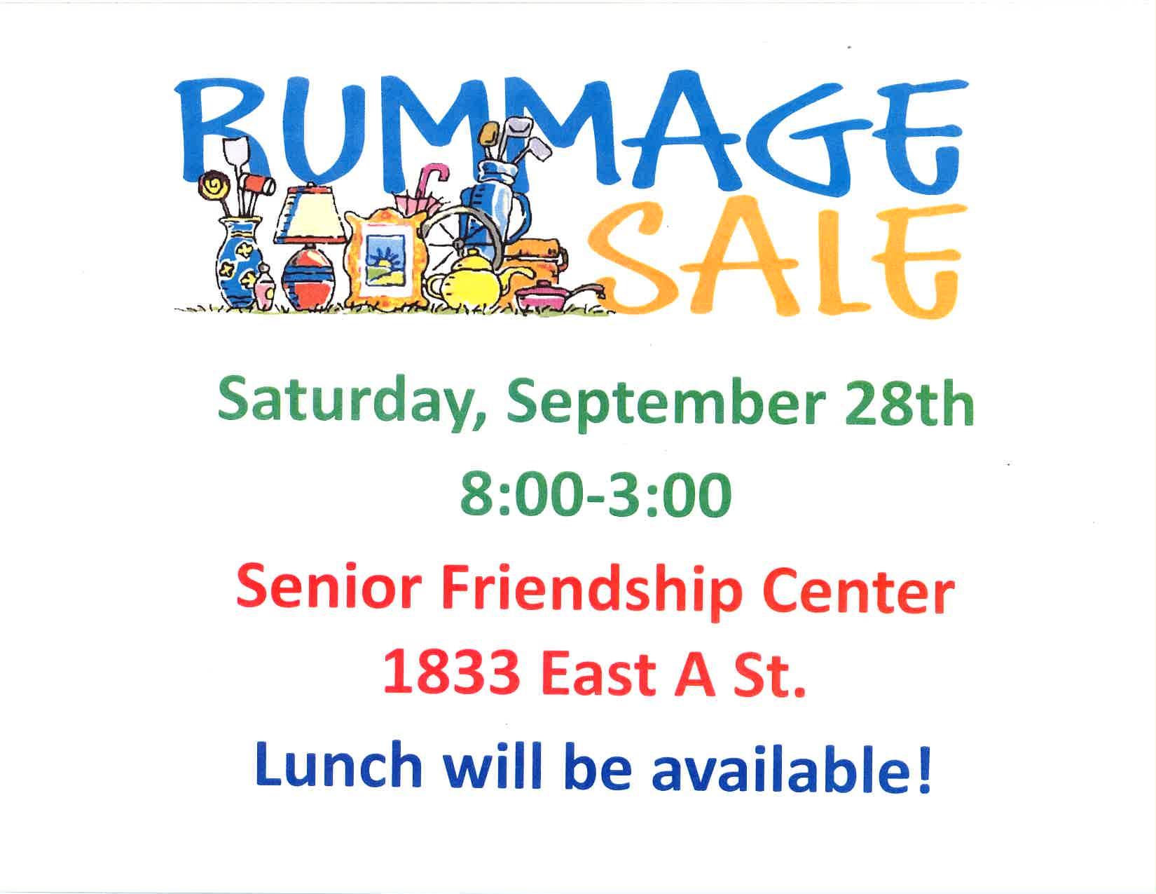 Rummage Sale Photo