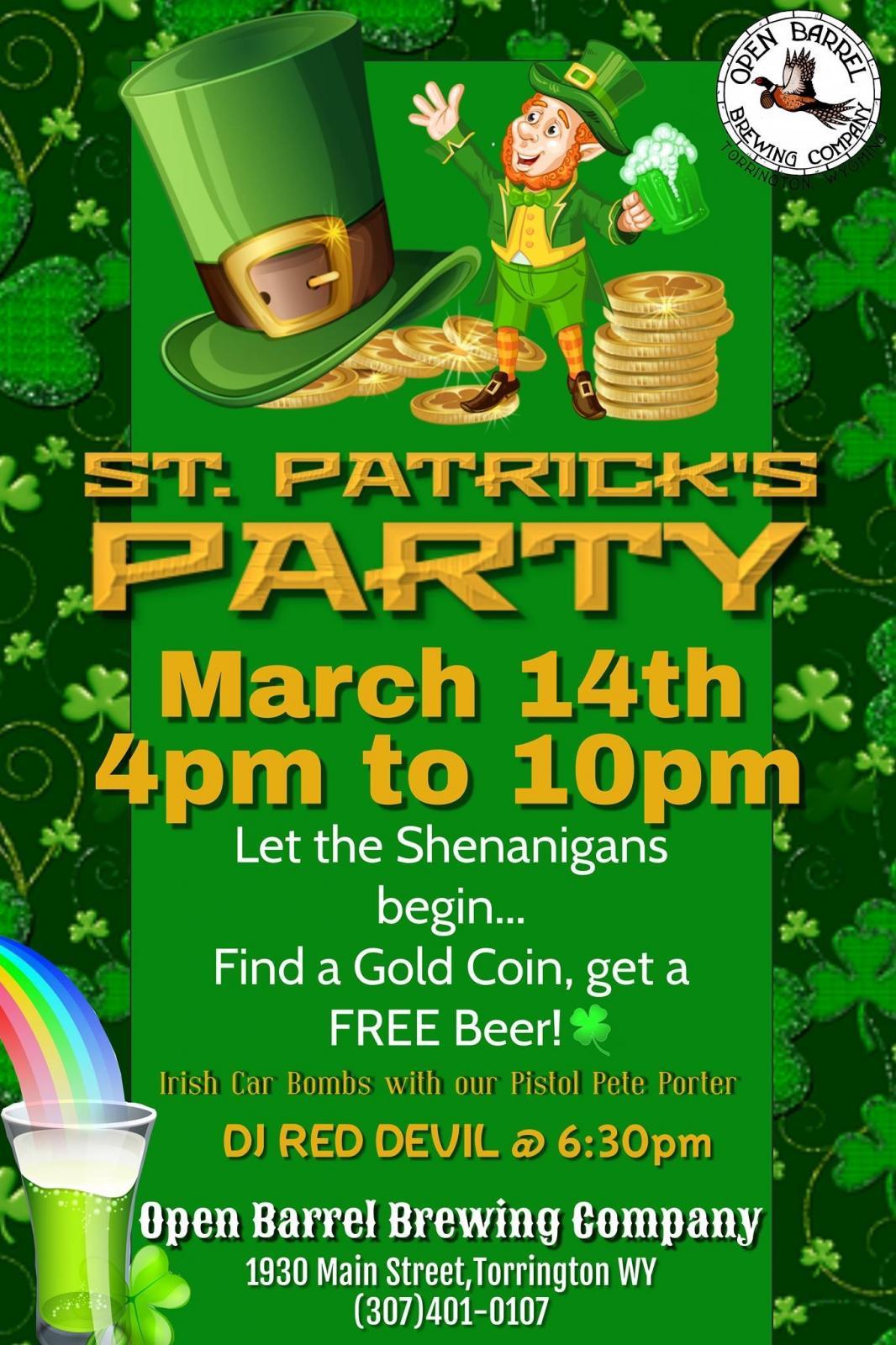 St. Patrick's Party Photo