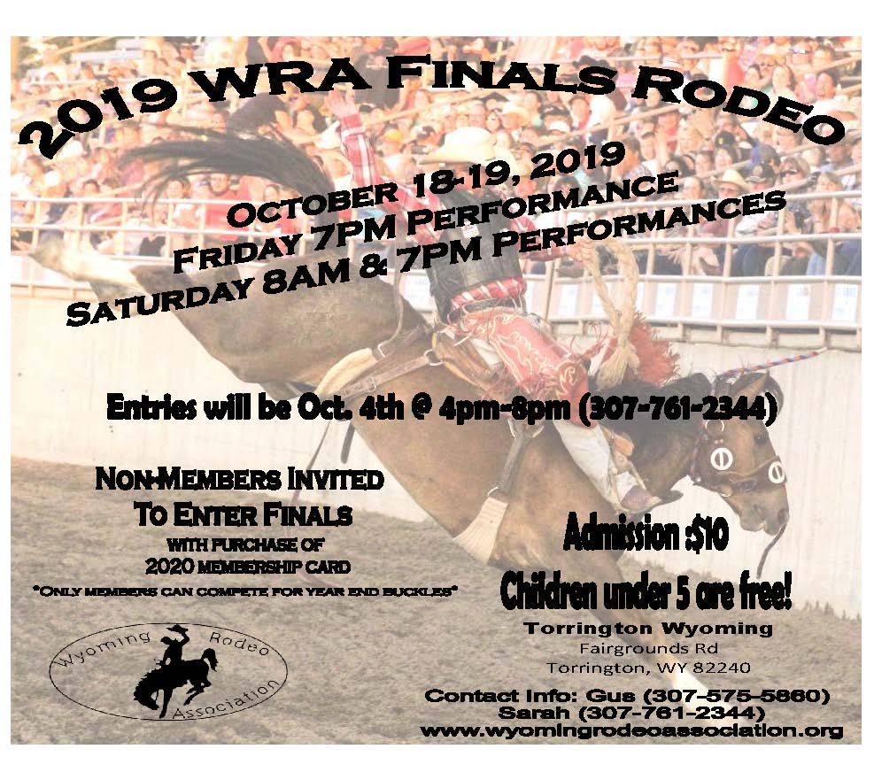 2019 WRA Finals Rodeo Photo
