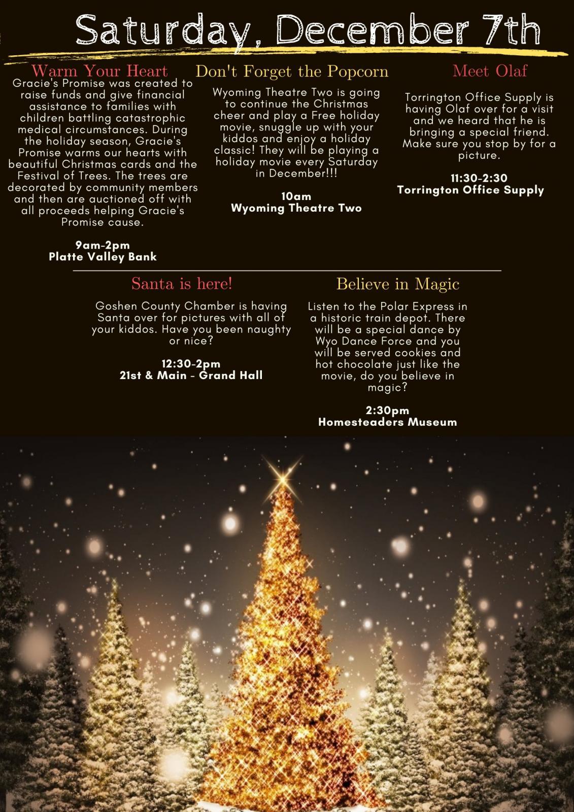 All Is Bright Christmas Celebration & Santa Photo
