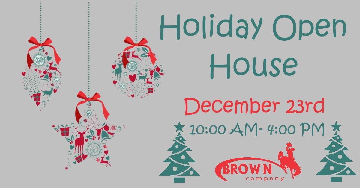 Brown Company Holiday Open House Photo