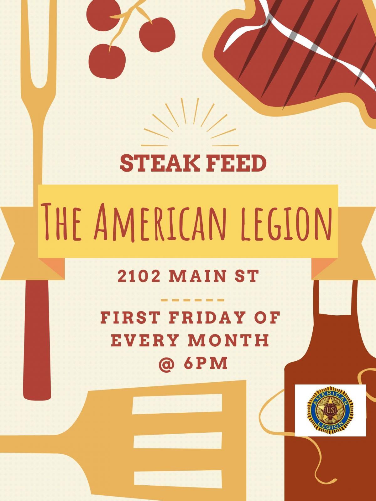 American Legion Steak Feed Photo