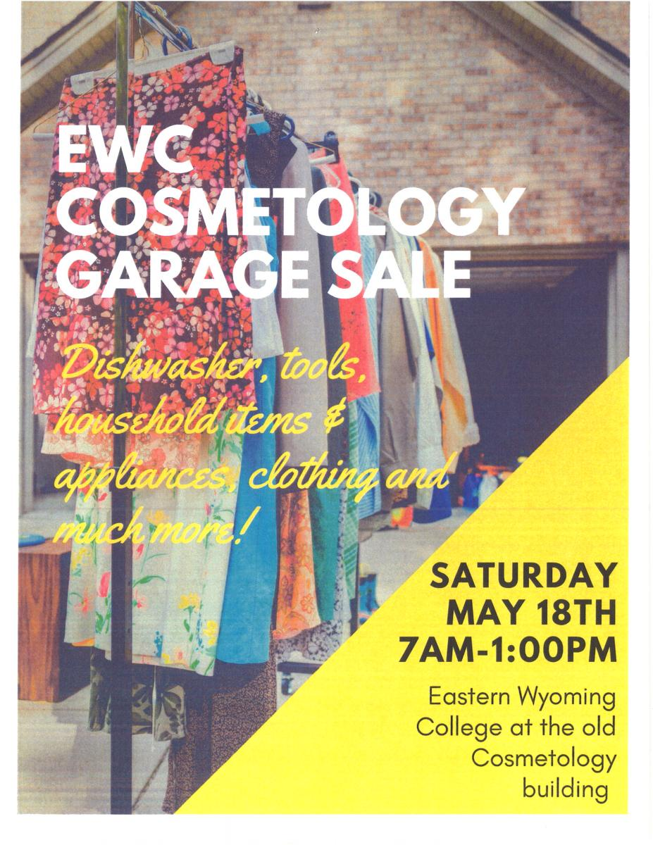 EWC Cosmetology Garage Sale Photo