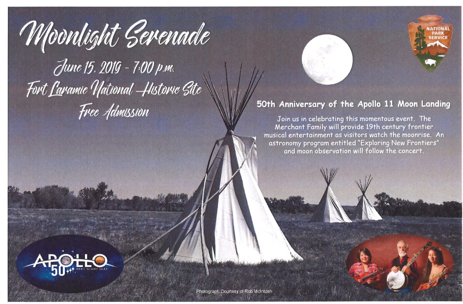 Moonlight Serenade – Apollo 11 50th Anniversary Commemoration   Photo