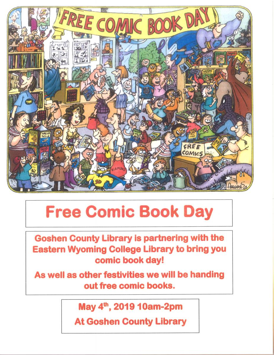 Free Comic Book Day Photo