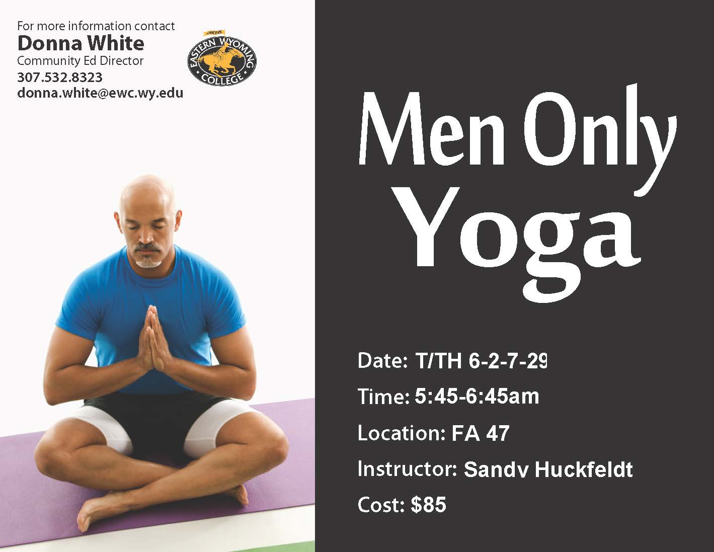 Men Only Yoga Photo
