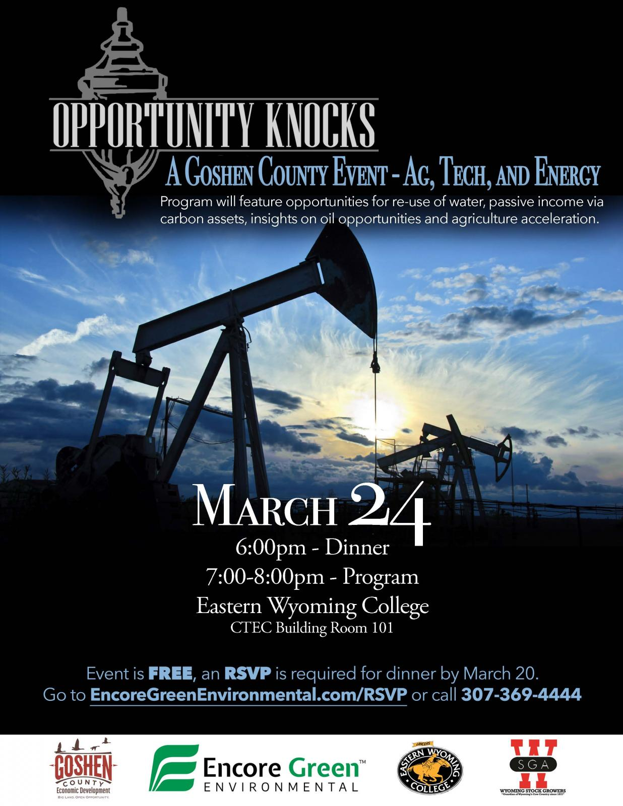 A Goshen County Event - AG, TECH, AND ENERGY Photo