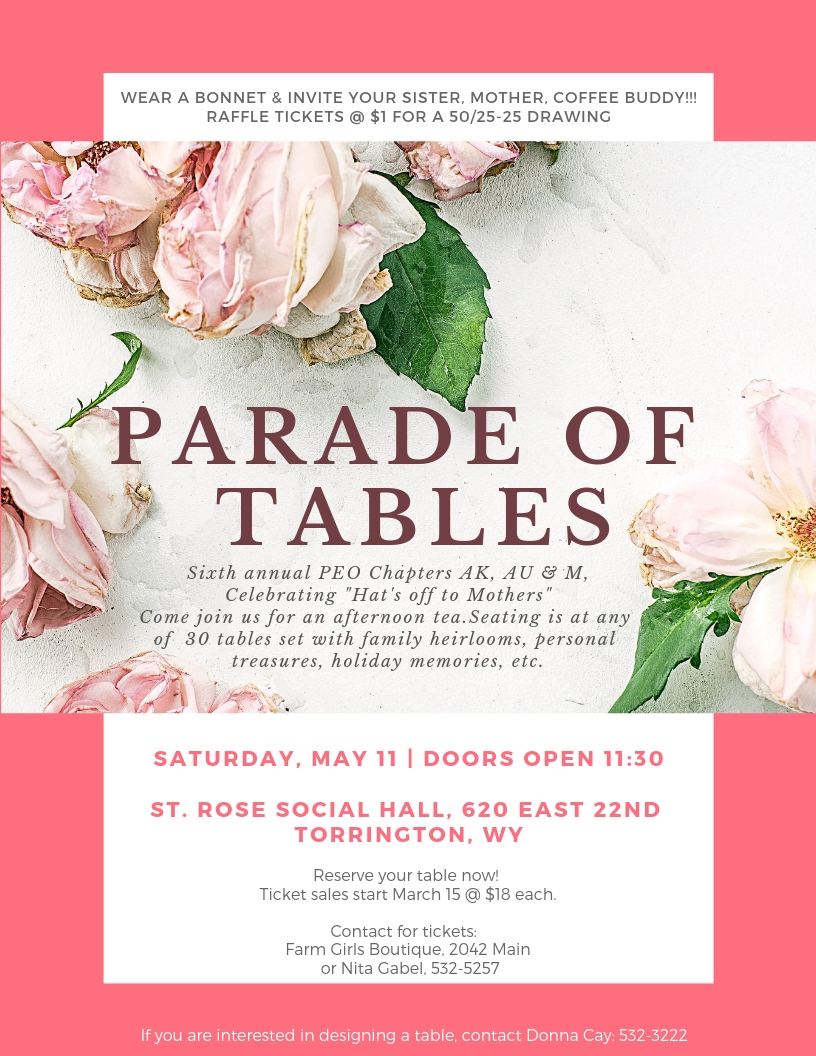 Parade of Tables Photo