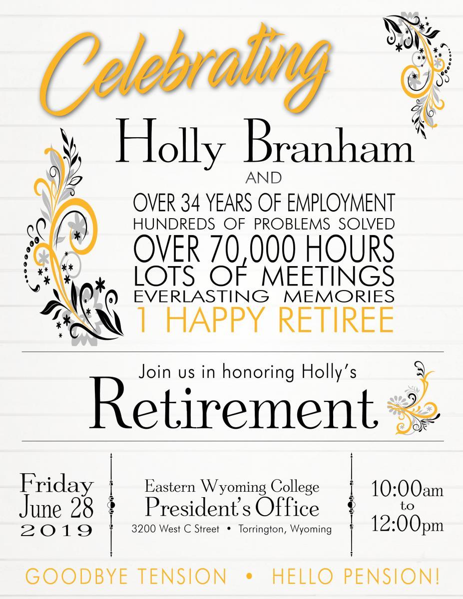 Retirement Party for Holly Branham Photo