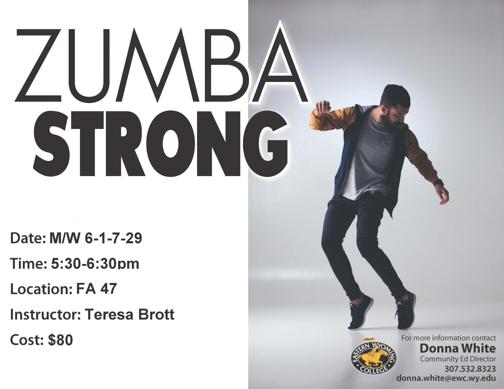 Zumba Strong Photo